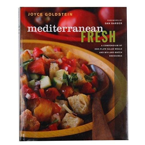 Garaj Kitap Mediterranean Fresh: A Compendium of One-Plate Salad Meals and Mix-and-Match Dressings Renkli